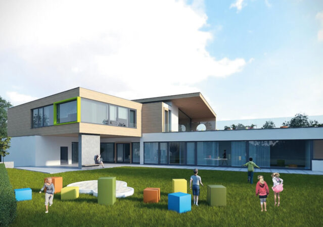 3D Visualisierung Neubau Kindertagesstätte