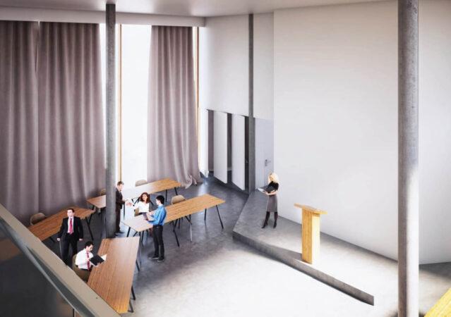 3D Visualisierung Rathaus innen